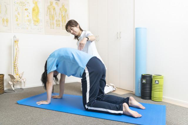 腰痛体操の写真